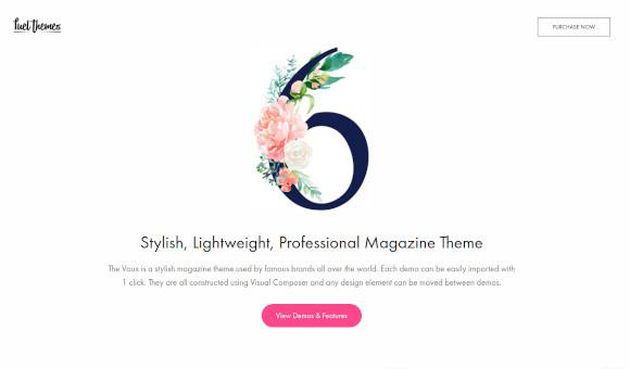a comprehensive magazine wordpress theme