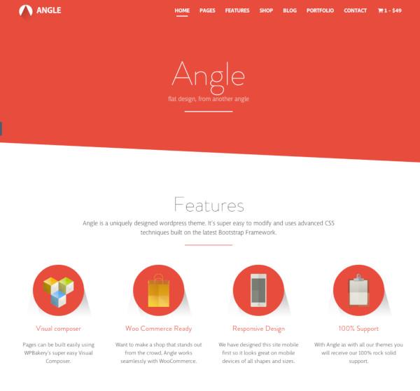 angle flat responsive bootstrap multipurpose them