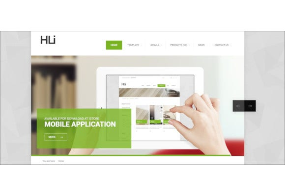 corporate business responsive joomla template