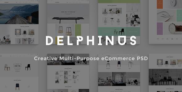 delphinus creative ecommerce psd template1