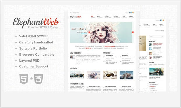 70 Css And Html Website Templates Free Premium Templates