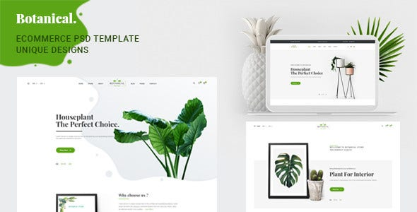 psd ecommerce template