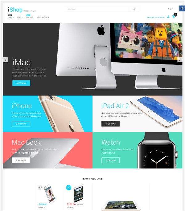 Electronic Devices Magento Website Theme $179