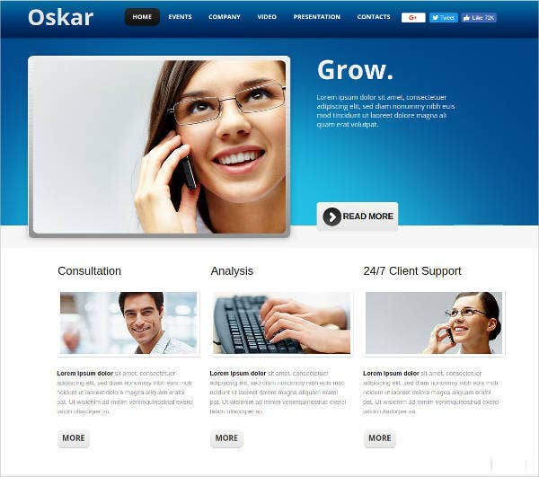 business-template-for-corporate-websites
