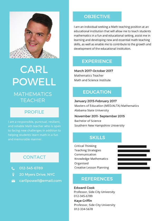 free-simple-resume-template
