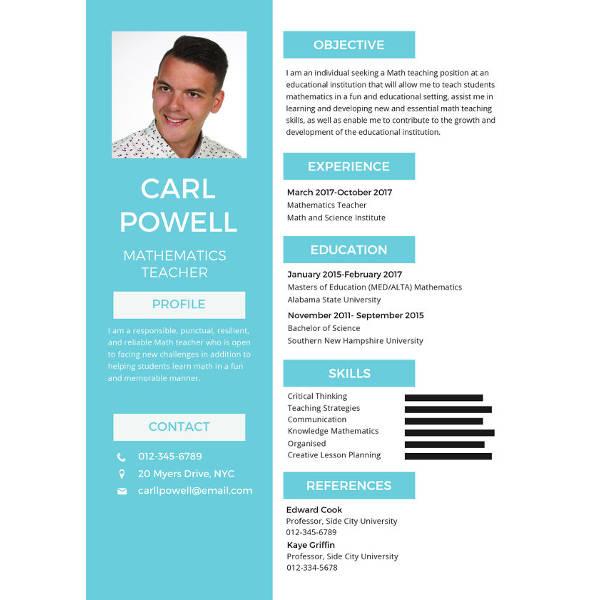 70+ Basic Resume Templates - PDF, DOC, PSD | Free & Premium Templates