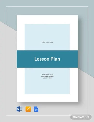 basic lesson plan template