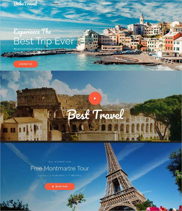 best-tour-experience-website-template
