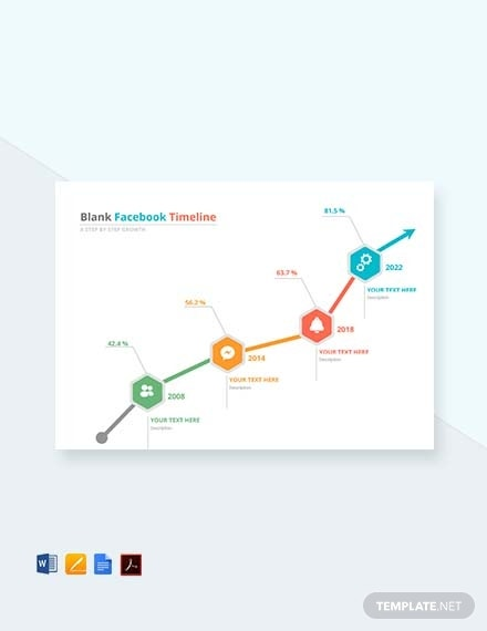 blank facebook timeline template