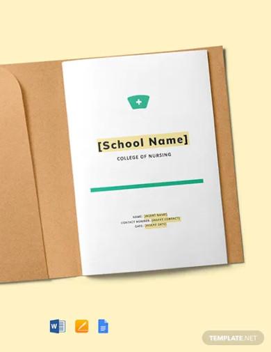 nursing school lesson plan template