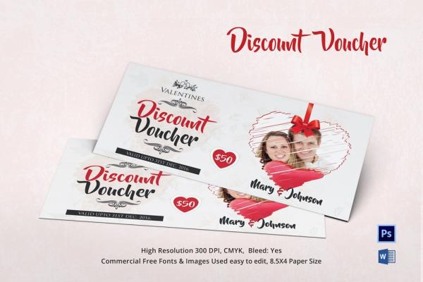 Coupon Voucher Design Template 26 Free Word JPG PSD Format – Voucher Sample Design