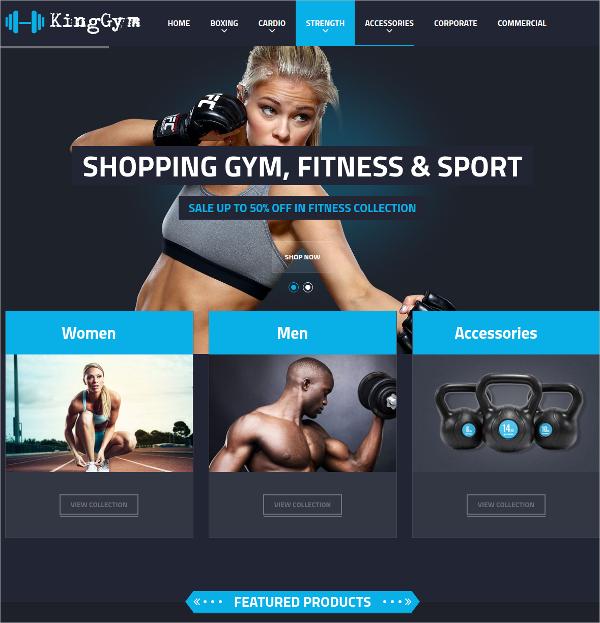 fitness gym sport magento theme 84