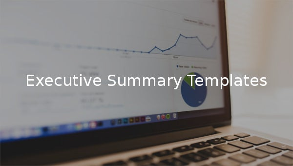 executive summary templates