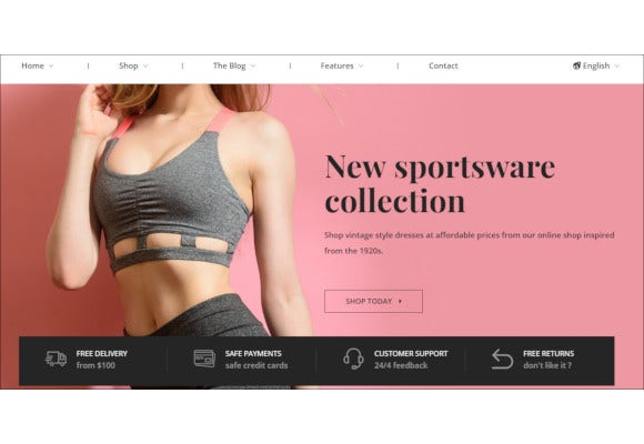 boutique html5 responsive template