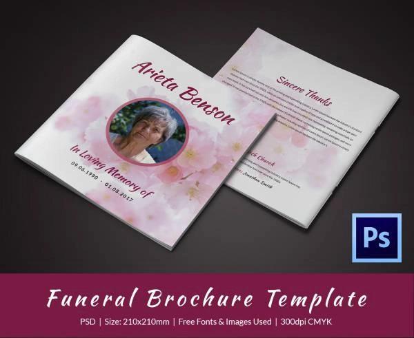 memorial event of grandmother template