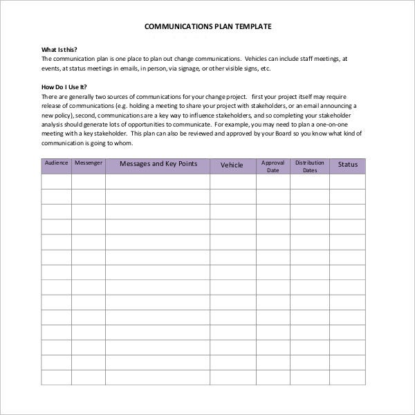 project-communications-plan-template