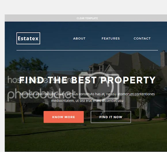 real estate property responsive email