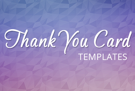 Business Thank You Card Template Images - Business thank you card template