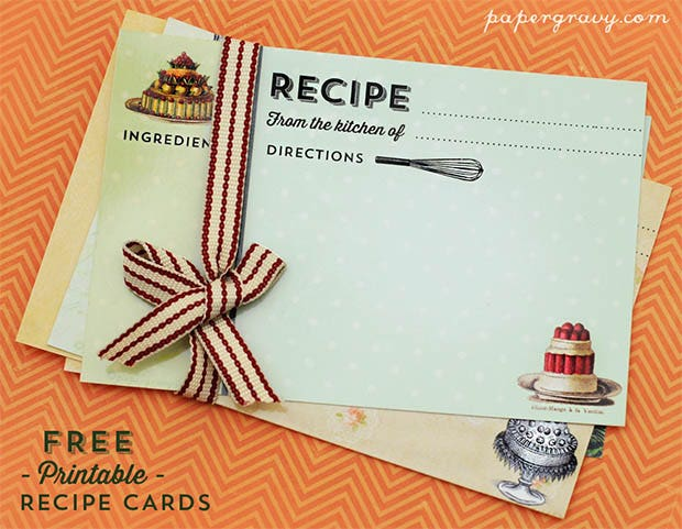 unlike the usual white writing surface the use of lighter hues have added on quite a pretty touch to these recipe cards the sumptuous pictures make the