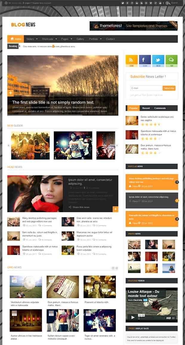 45 best premium news website templates free premium templates