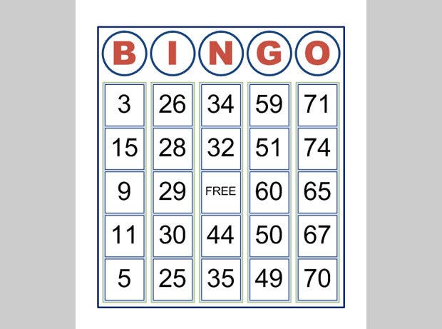 10 Best Premium Bingo Templates For Download Free Free