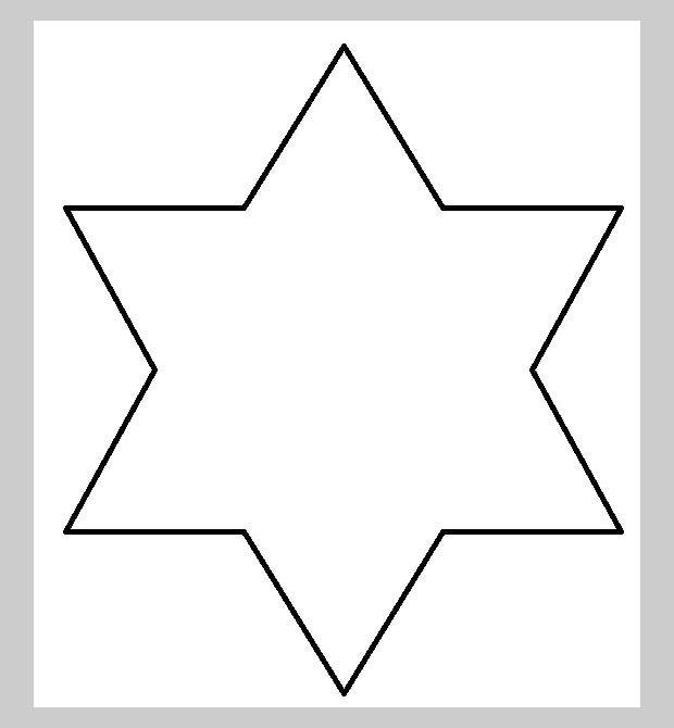 The 6 Point Star Is Brightest Of All Print Them Out For Your Child S Delight It Will Surely Be An Endearing Masterpiece One To Cherish And Preserve