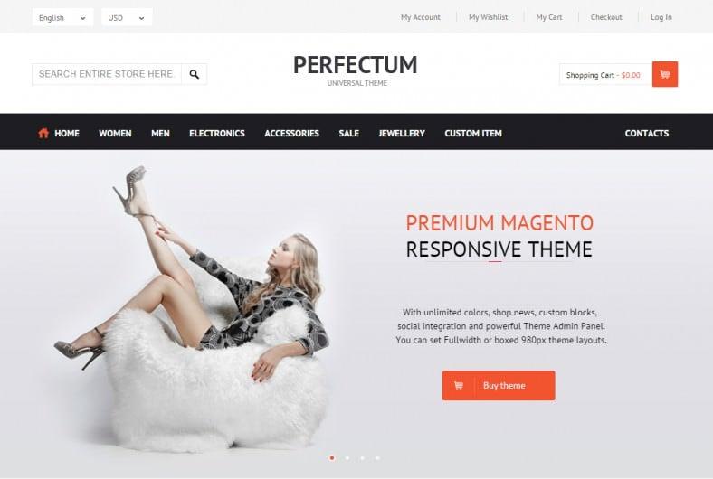 Perfectum Premium Responsive Magneto theme