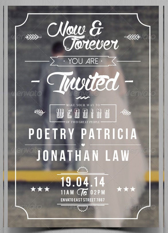 34+ Wedding Invitation Design Templates - PSD, AI, InDesign | Free ...