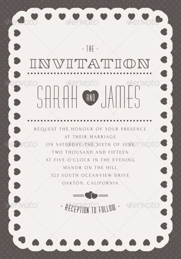 34 wedding invitation design templates psd ai indesign free