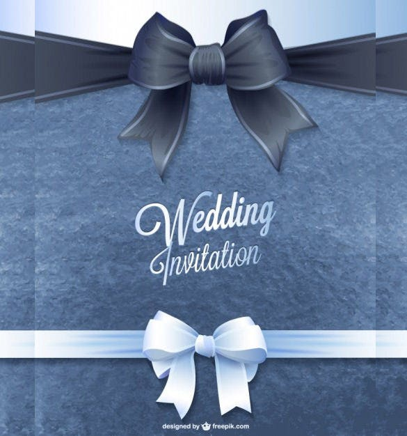 Wedding Invitation Design Templates Free JPG PSD Indesign - Wedding invitation templates: silver wedding invitations templates