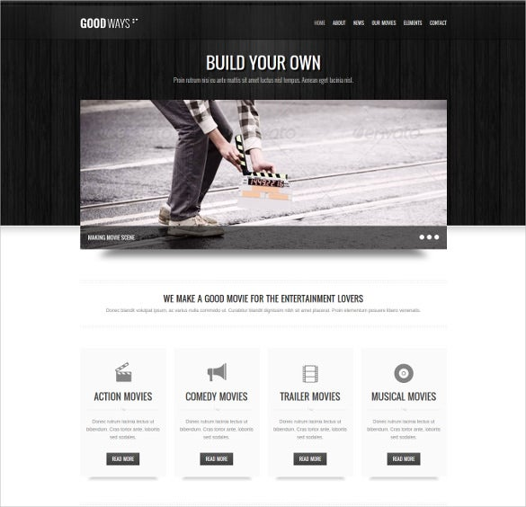 21+ Cinema WordPress Themes & Template | Free & Premium Templates