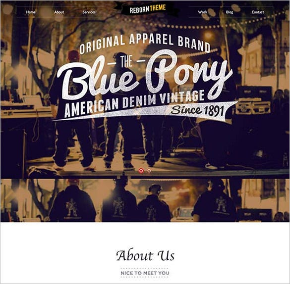 music club wordpress website template