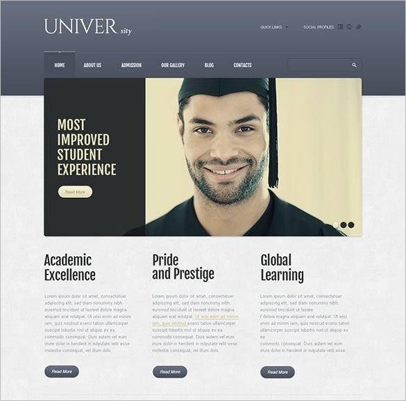 fully responsive drupal template