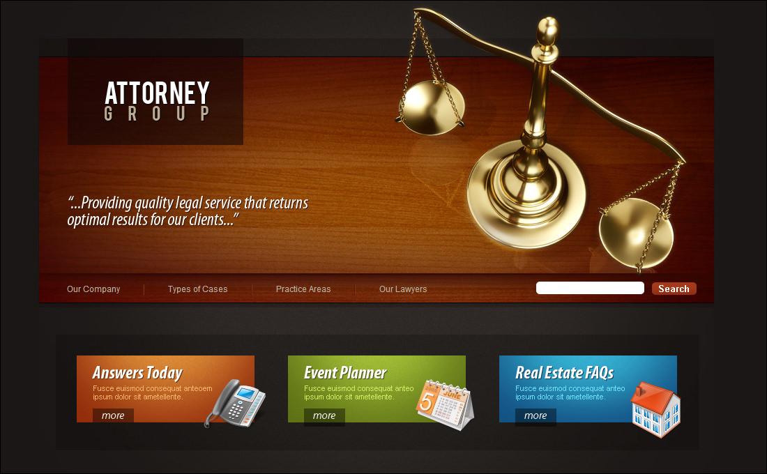 20 best attorney website templates free premium templates maxwellsz