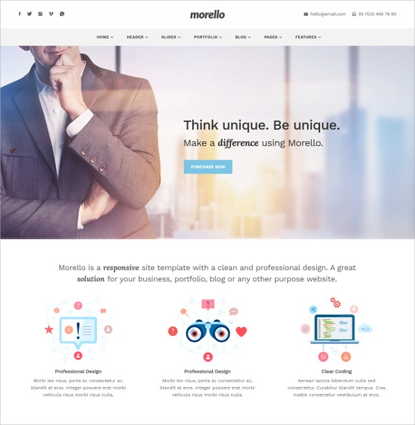 Multipurpose Business Magazine WordPress Website Theme $49