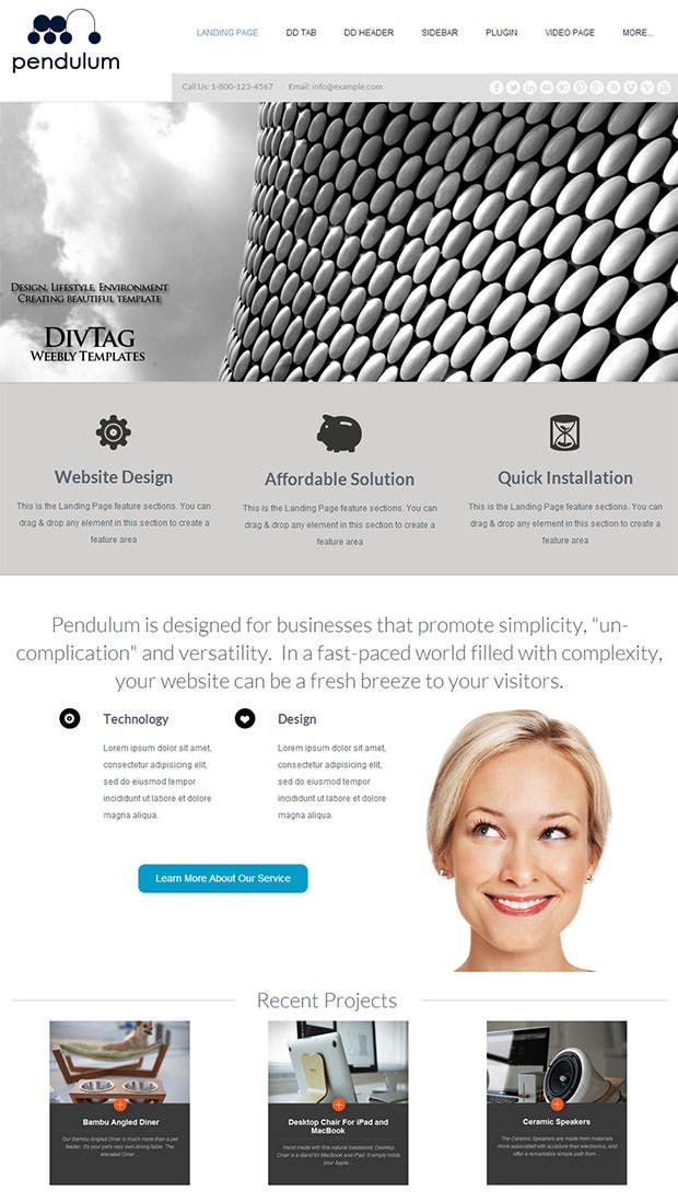 31 free weebly themes templates free premium templates for Weebly drag and drop templates