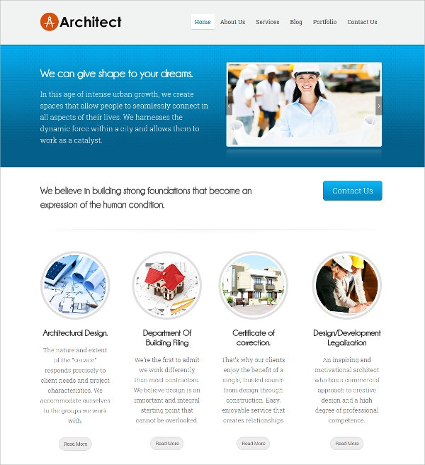 Architecture Firms & Companies WP Website Theme $79