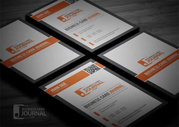 34 best qr code business card examples identity mockups free professional qr code business card template reheart