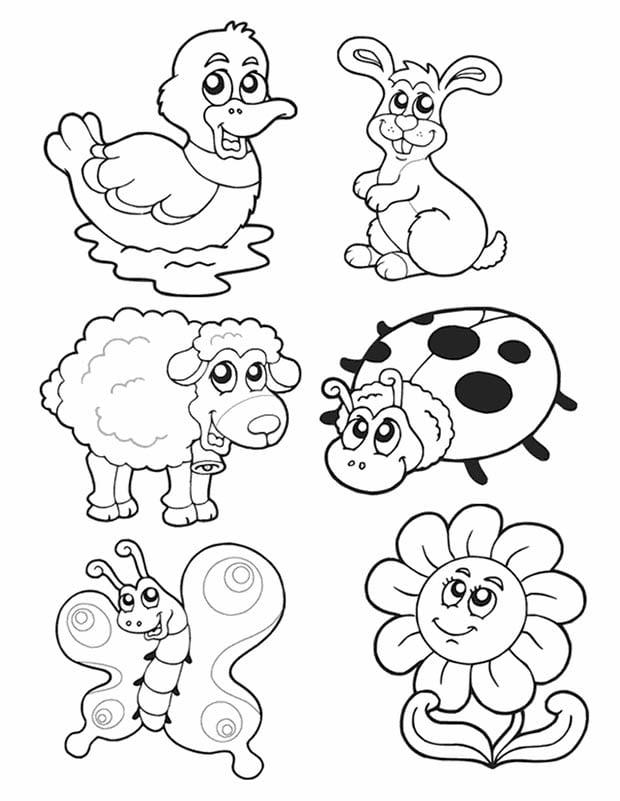 templates of animals