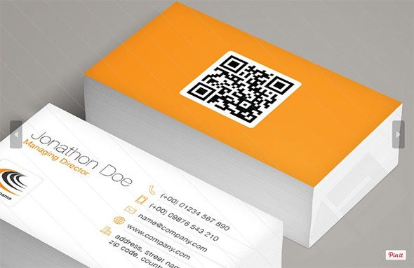 Qrcode business card boatremyeaton qrcode business card reheart