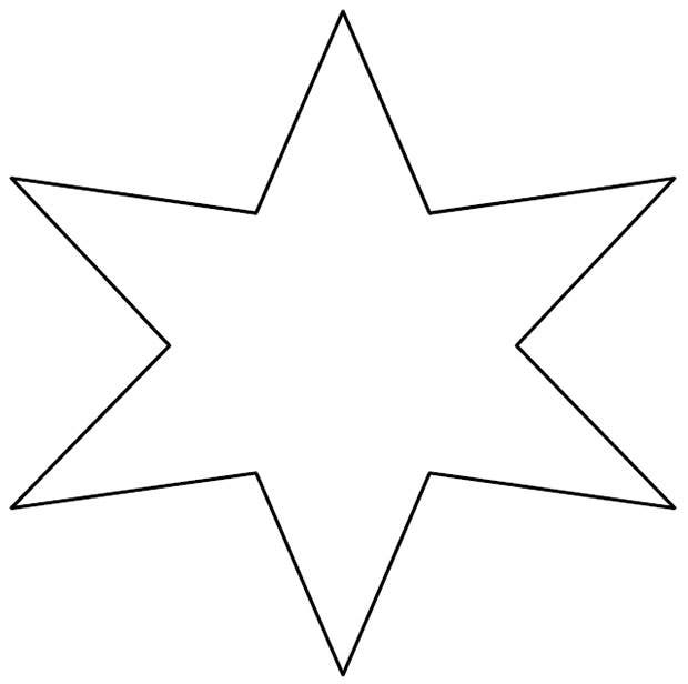 image relating to Star Printable Cutouts titled 20+ Star Templates - Star Options Crafts Absolutely free Top quality