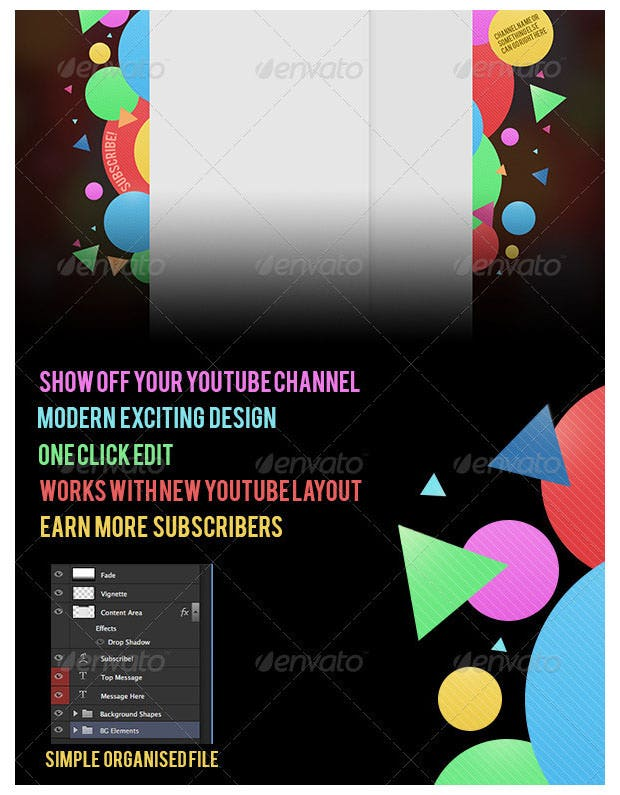 10+ Best YouTube Channel Design Templates | Free & Premium Templates