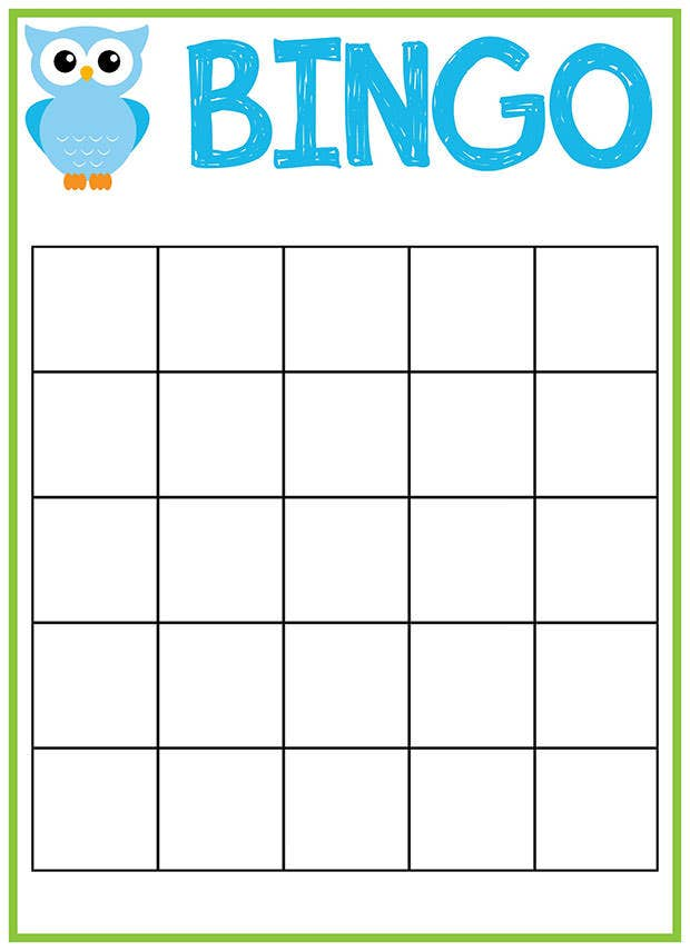 Best Premium Bingo Templates For Download Free  Free  Premium