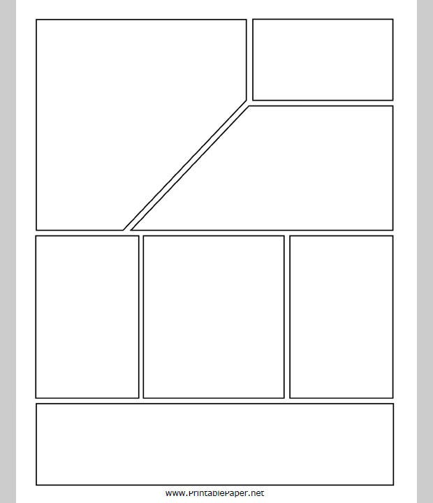 Comic Strip Template – Comic Strip Template