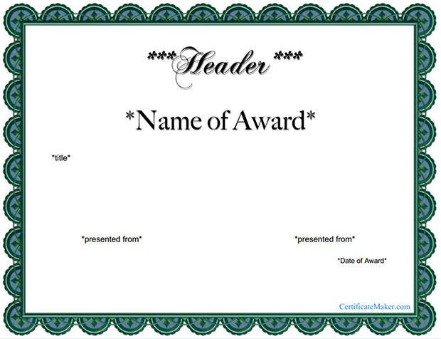 Award certificate template 39 word pdf psd format for Award certificate template free download