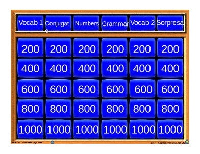 5+ best jeopardy templates | free & premium templates, Modern powerpoint