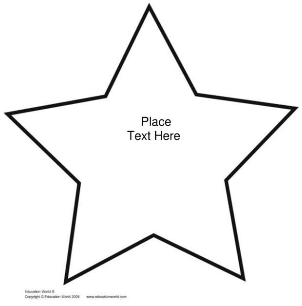 20+ Star Templates - Star Designs & Crafts