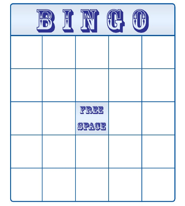 4x4 bingo template - pin free blank bingo template on pinterest