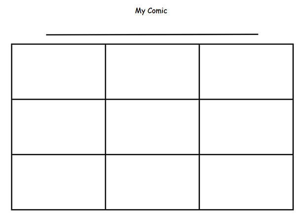 Search Results For Blank Comic Strip Calendar 2015