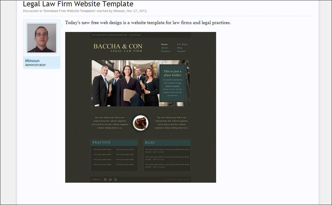 20 best attorney website templates free premium templates legal pronofoot35fo Choice Image